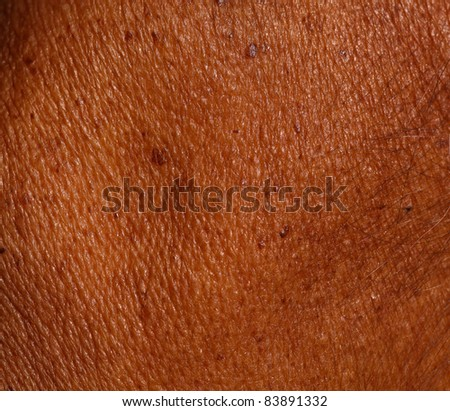 Close up of Skin background. - stock photo