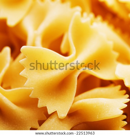 Close up of the background pasta - stock photo