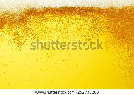 close up of the beer - stock photo