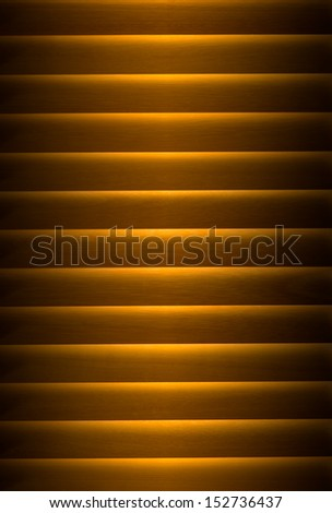 Close up of venetian blind, vertical image - stock photo
