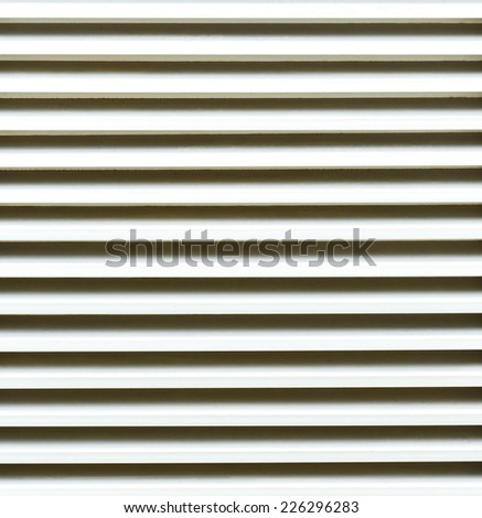 Close up of ventilation grille. - stock photo