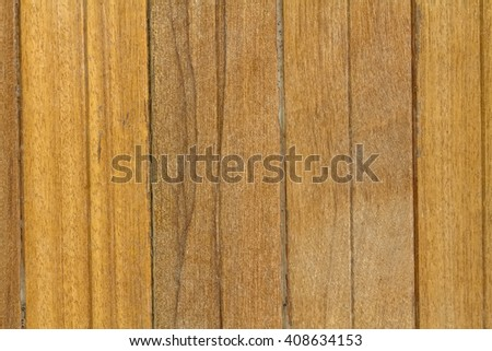 Close up old dirty wooden wall use for background - stock photo