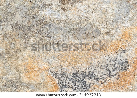 Close up old rock or stone texture, nature background - stock photo