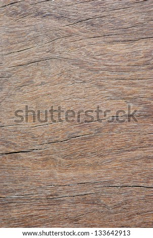 Close up on the old wood texture background - stock photo