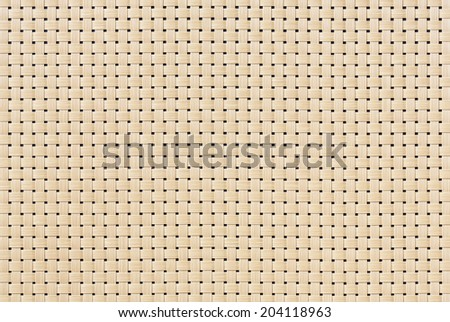 Close up rattan or wicker weave texture - stock photo