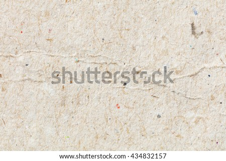 Close up recycle paper texture background, paper grain, cardboard paper, craft paper, gray board - stock photo
