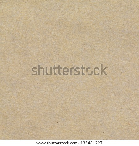 close up shot of light brown recycled paper texture background - stock photo
