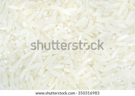 close up shot of the rice background - stock photo