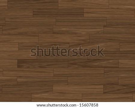 close up shot of wooden parquet flooring - stock photo