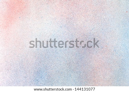 close up spray color texture on glossy paper - stock photo