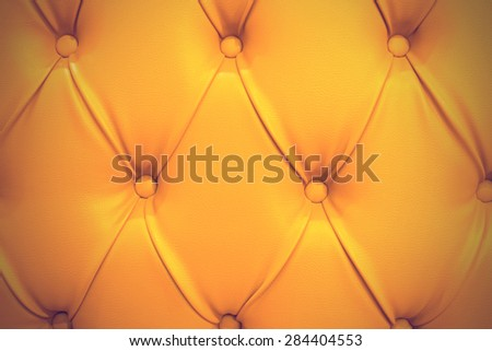 Close up texture of sofa for background - vintage effect style pictures. - stock photo