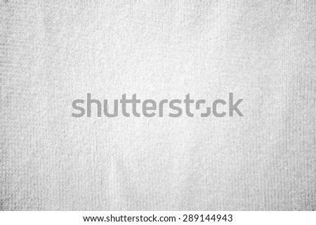 Close up white color muslin canvas cloth texture - stock photo