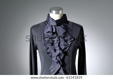 Close up Woman fashion cloth on mannequin - stock photo
