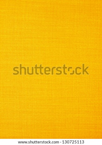 Close-up yellow fabric textile texture for background - stock photo