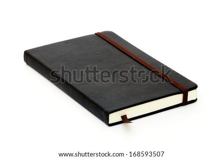 Closed dairy book - stock photo