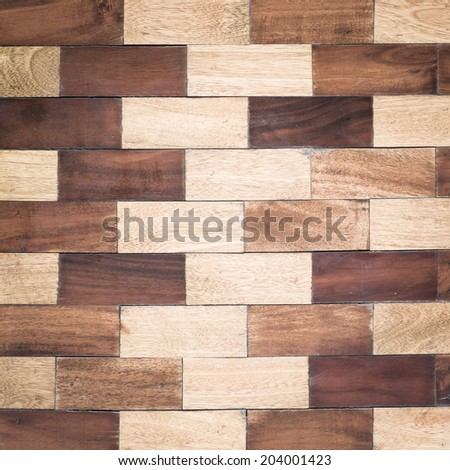 closed up of vintage Wood Texture background - stock photo