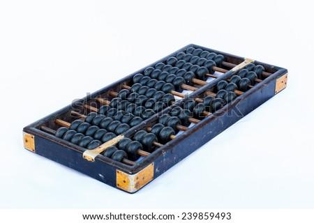 Closeup abacus,still life style. - stock photo