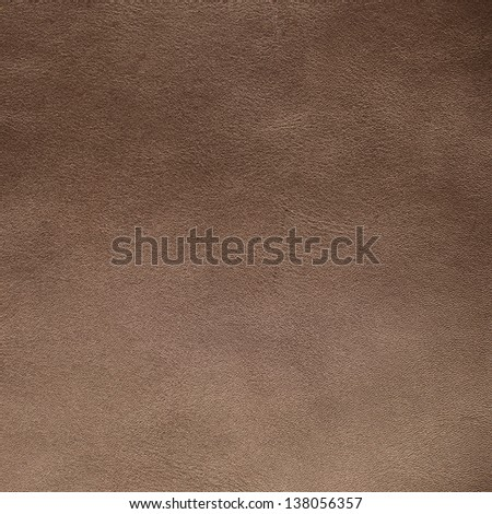 Closeup detail of brown suede texture background. - stock photo