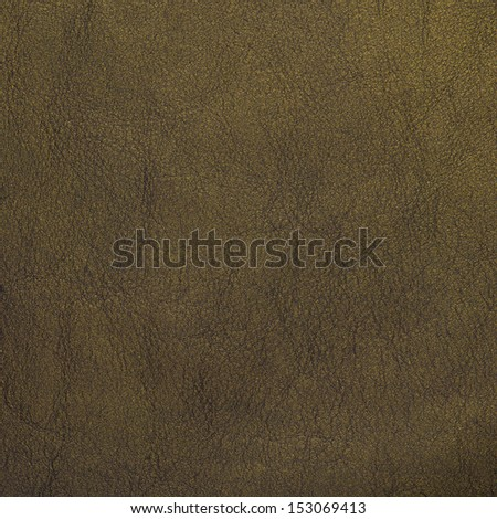 Closeup detail of green leather texture background. - stock photo