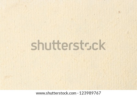 Closeup detail of old wrinkled paper, tan color . - stock photo