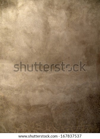 Closeup fragment of concrete wall of a building - stock photo