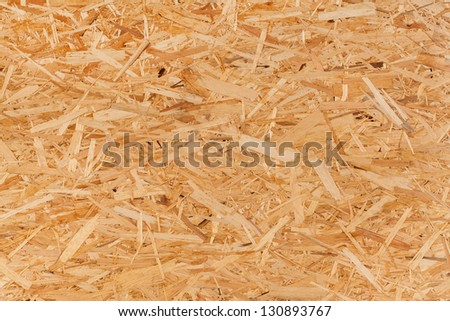 Closeup image of pressed wood texture - stock photo