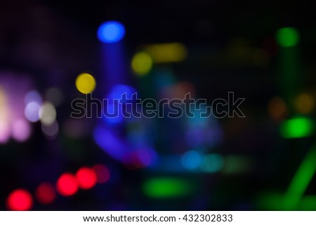 Closeup image of red party lights. - stock photo