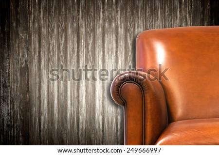 Closeup Modern Chair interior - stock photo