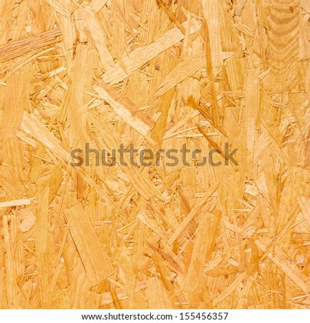 Closeup of a chipboard for texture or background - stock photo