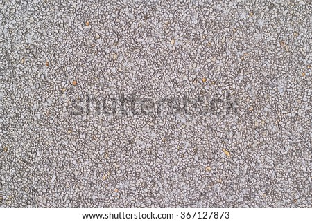 closeup of a pile of pebbles background - stock photo