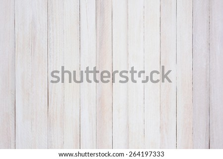 Closeup of a rustic whitewashed wood background. The boards are straight up and dow. - stock photo