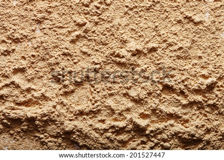 closeup of a spilling powder with a texture  - stock photo