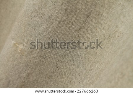 Closeup of asbestos roofing material - stock photo