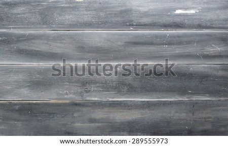 Closeup of few planks in dirty gray color.Studio shot. - stock photo