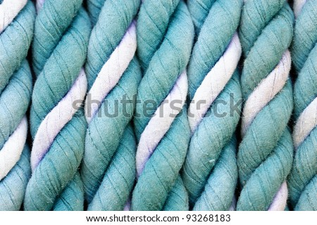 Closeup of rope as a background - stock photo