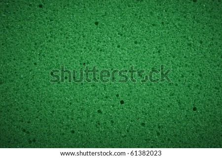 Closeup of sponge texture - stock photo