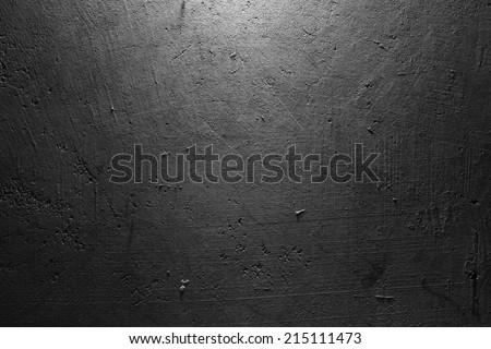 Closeup of textured concrete wall - stock photo