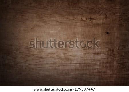 Closeup of wood background - stock photo