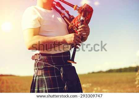 Kilt Stock Photos Images Amp Pictures Shutterstock