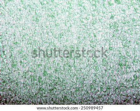 closeup polyurethane foam for background - stock photo