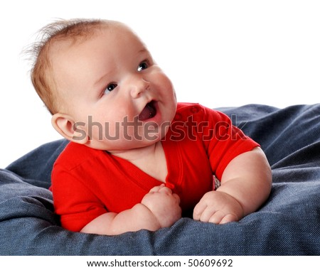 Chubby Cute Baby Boy of Happy Chubby Baby Boy