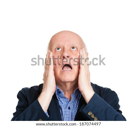 Stock Images similar to ID 126676805 - desperate sad man ...