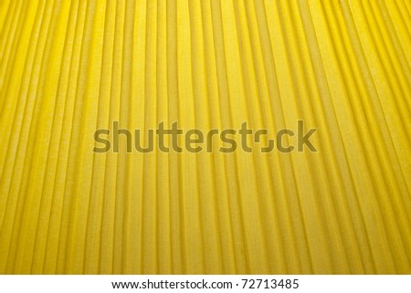 Closeup Structure of Yellow Fabric Texture use a Background - stock photo