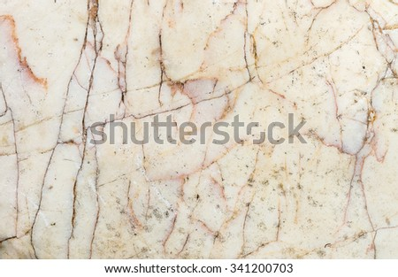 Closeup surface old and dirty marble floor texture background - stock photo
