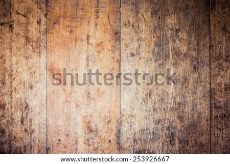 closeup wooden texture. the old wood - stock photo