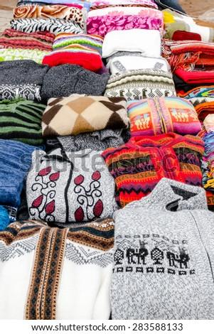 Cloth with Coya Fabrics - stock photo