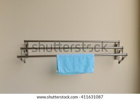 Clothe sline - stock photo