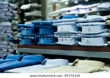 Clothes Shopping - stock photo