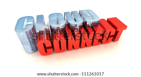 Cloud Connect - stock photo