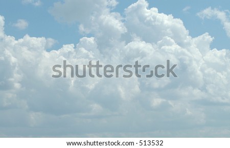 Cloud eight - stock photo